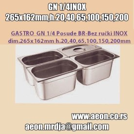 GN POSUDA 1-4 INOX